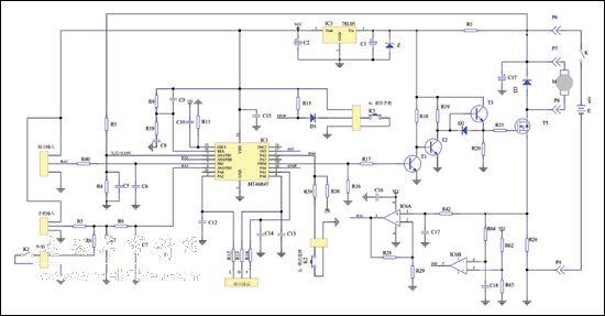 电动车控制器电路图 48电动车控制器电路图 电动车控制器电路图解